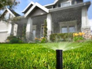 irrigation system burke, va